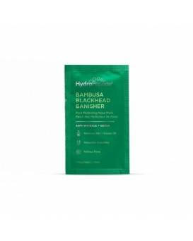 BAMBUSA BLACKHEAD BANISHER - Поросуживающая очищающая маска против черных точек с экстрактом бамбука и вулканическим пеплом, 8 шт