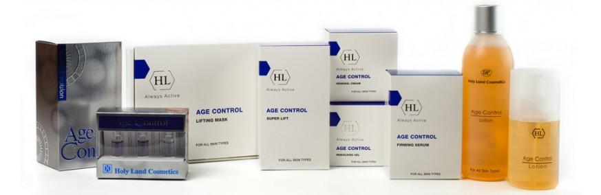AGE CONTROL – косметическая линия против старения и увядания кожи