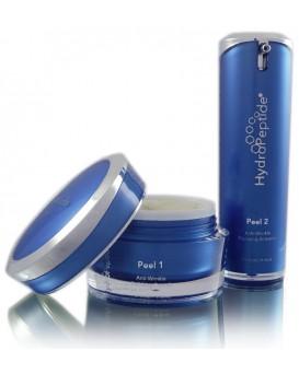 Polish&Plump Peel HydroPeptide - Двухступенчатый пилинг с эффектом полировки и разглаживания морщин, 2 фл. * 30 мл